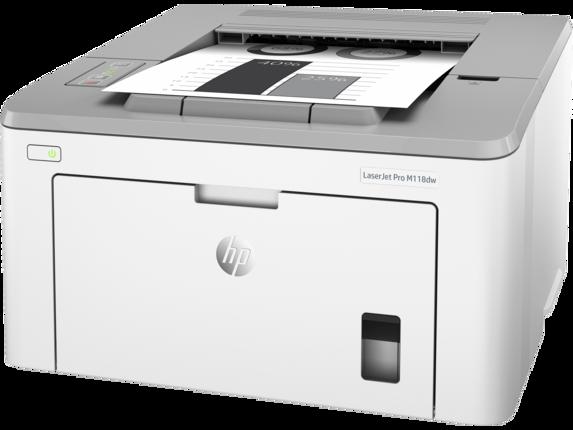 HP LaserJet Pro M118dw - Left
