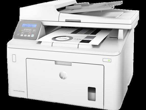 HP LaserJet Pro MFP M148dw - Left