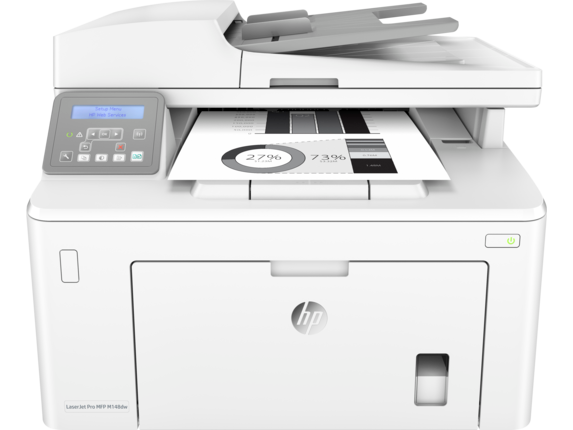 HP LaserJet Pro MFP M148dw - Center
