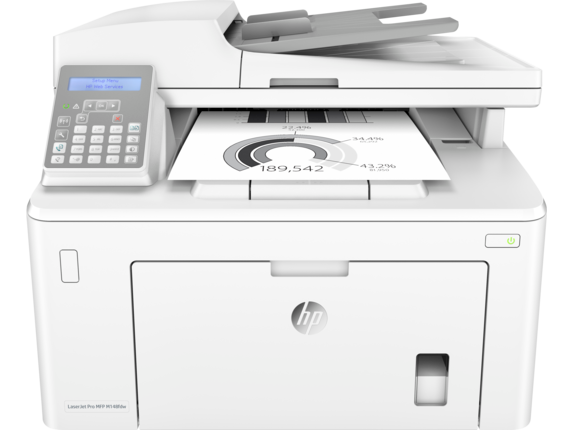 HP LaserJet Pro MFP M148fdw - Center
