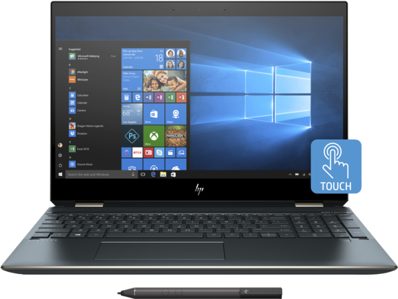 HP Spectre x360 - 15-df0068nr - Center
