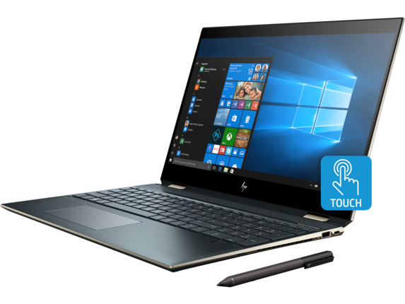 HP Spectre x360 - 15-df0068nr - Left