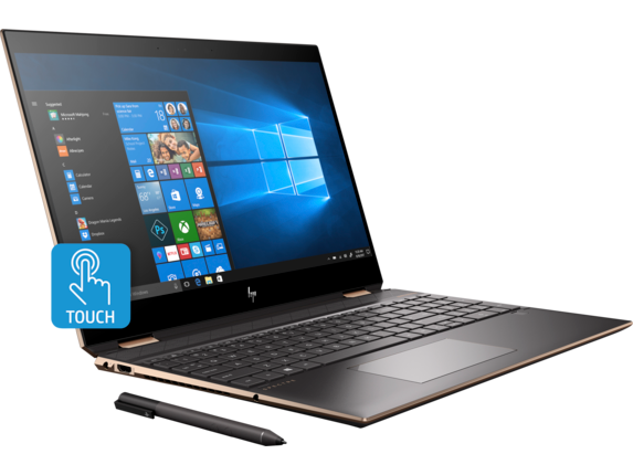 HP Spectre x360 Laptop - 15t touch - Right