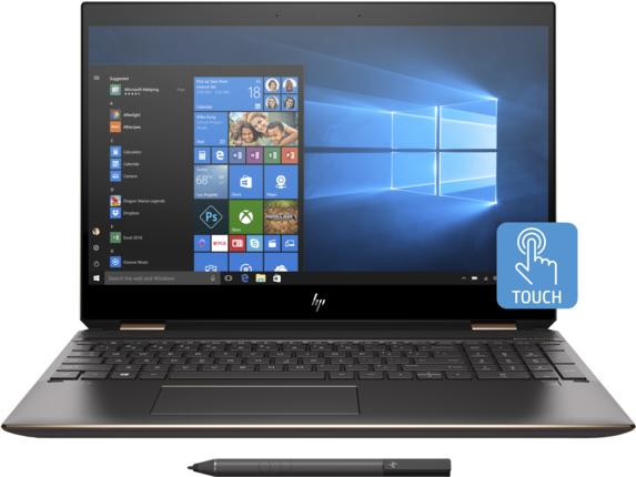 HP Spectre x360 Laptop - 15t touch - Center