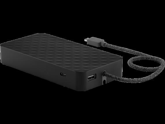 HP USB-C Essential Power Bank - Left rear