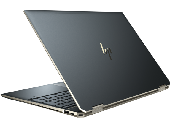 HP Spectre x360 - 15-df0068nr - Left rear