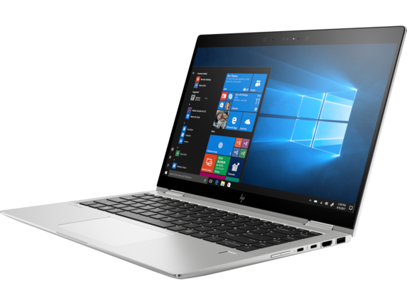 HP EliteBook x360 1040 G5 Notebook PC with HP Sure View - Left |Natural Silver