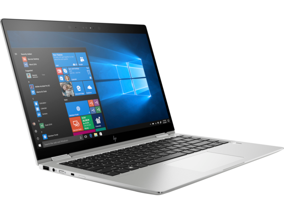 HP EliteBook x360 1040 G5 Notebook PC with HP SureView - Right |Natural Silver