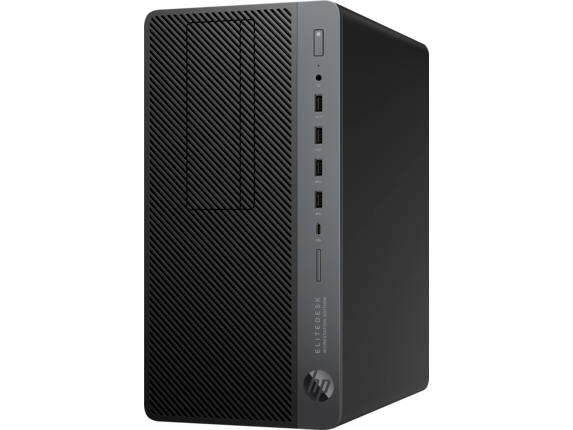 HP EliteDesk 705 G4 Workstation Edition - Left