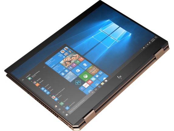 HP Spectre x360 - 15-df0070nr - Top view closed