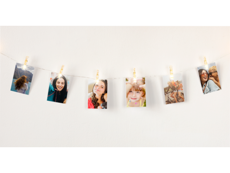 HP Sprocket Light String with Clips