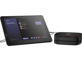 HP Elite Slice G2 - Audio Ready with Microsoft Teams Rooms