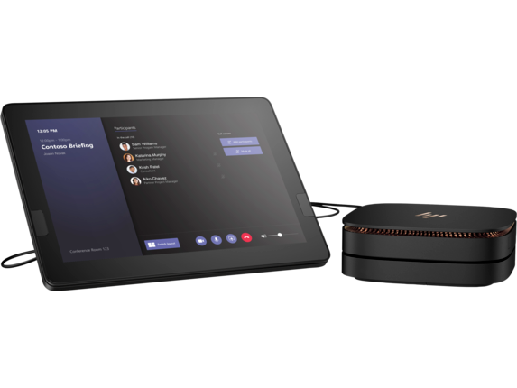 HP Elite Slice G2 - Audio Ready with Microsoft Teams Rooms - Center