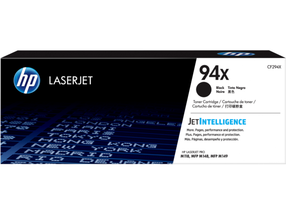 HP 94X High Yield Black Original LaserJet Toner Cartridge