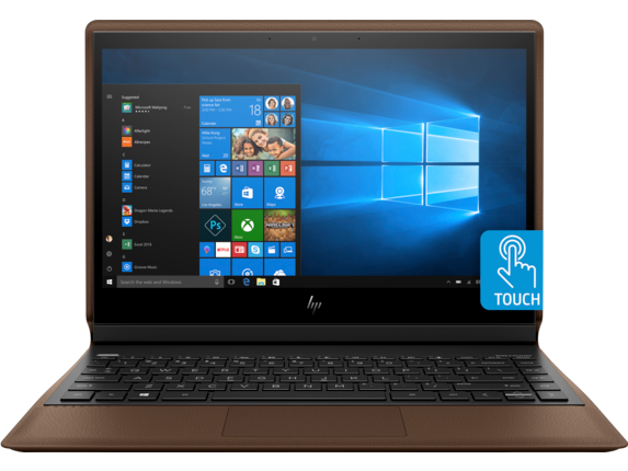 HP Spectre Folio Laptop - 13t - Center