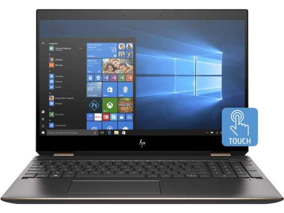 HP Spectre x360 - 15-df0069nr - Center