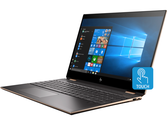 HP Spectre x360 - 15-df0069nr - Left