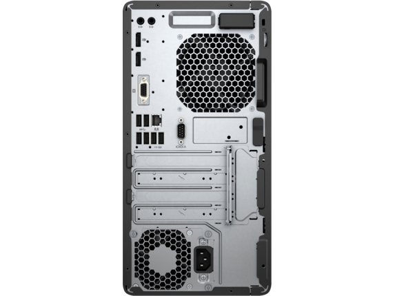 HP EliteDesk 705 G4 Workstation Edition - Rear