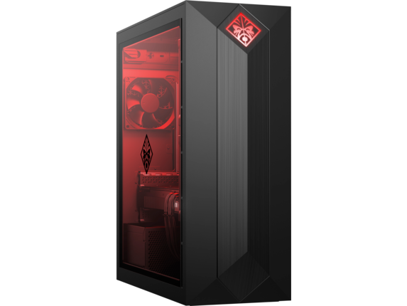 OMEN by HP Obelisk Desktop 875-1055xt - Right |Jet Black