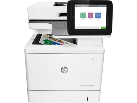 HP Color LaserJet Managed MFP E57540-serien