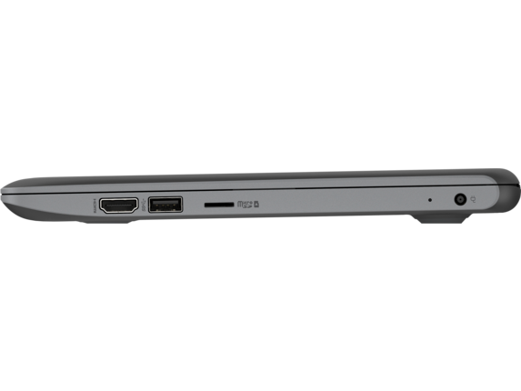 HP Stream 11 Pro G5 Notebook PC - Customizable - Left profile closed
