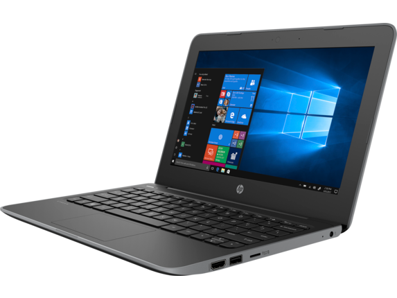 HP Stream 11 Pro G5 Notebook PC - Left |Storm Grey