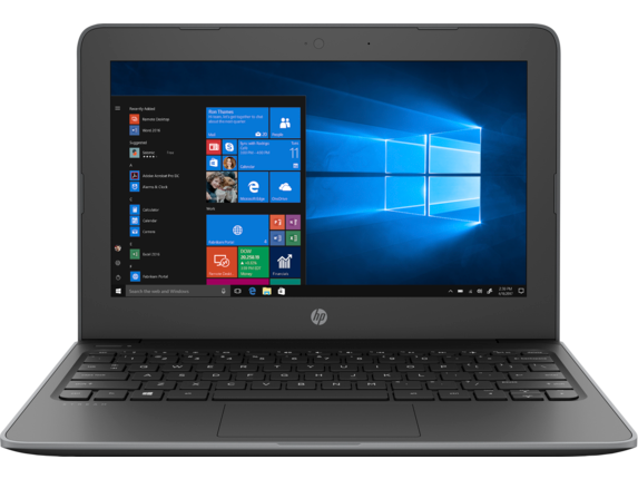 HP Stream 11 Pro G5 Notebook PC - Center |Storm Grey
