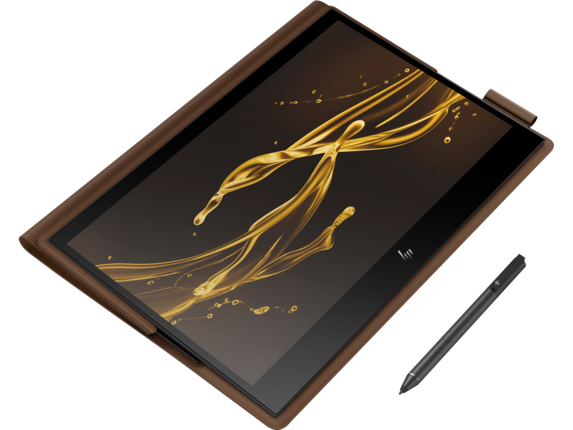 HP Spectre Folio Laptop - 13t - Top view closed