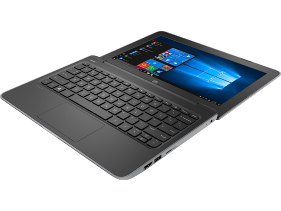 HP Stream 11 Pro G5 Notebook PC - Top view closed |Storm Grey