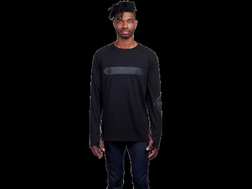 HP OMEN Meridian M Langarm-T-Shirt, schwarz – L