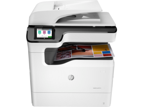HP PageWide Color MFP 774 打印机系列