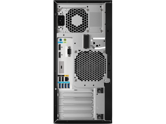 HP Z2 Tower G4 Workstation - Rear