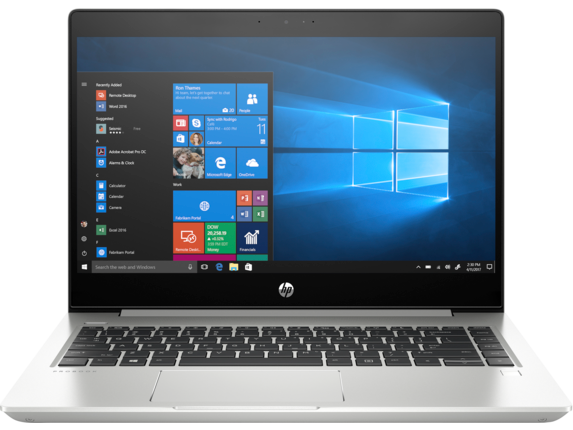 HP ProBook 445R G6 Notebook PC - Customizable - Center