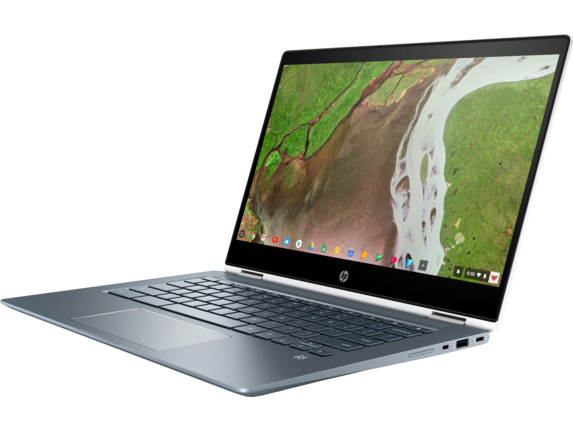 HP Chromebook x360 - 14-da0021nr - Left