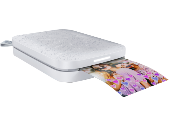 HP Sprocket 2nd Edition Photo Printer​ - Right |Echo White