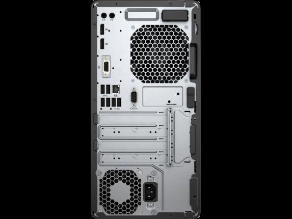 HP EliteDesk 705 G4 Micro Tower PC - Customizable - Rear