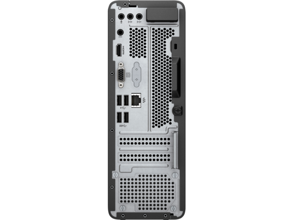 HP Slimline Desktop - 290-p0035qd - Rear
