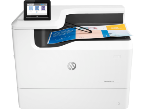 Impresora HP PageWide Color serie 755