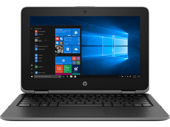 HP ProBook x360 11 G3 EE Notebook PC - Customizable - Center