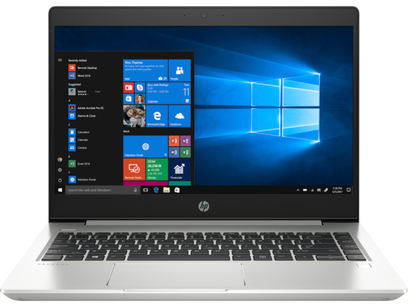 HP ProBook 445 G6 Notebook PC - Customizable - Center
