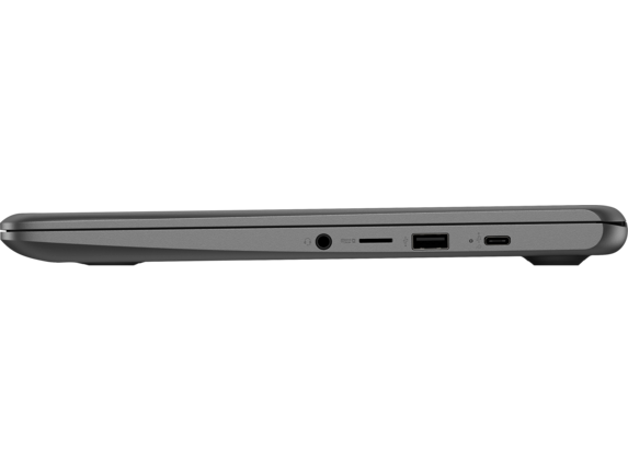 HP Chromebook - 14-db0020nr - Left profile closed