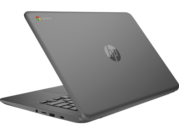HP Chromebook - 14-db0020nr - Left rear