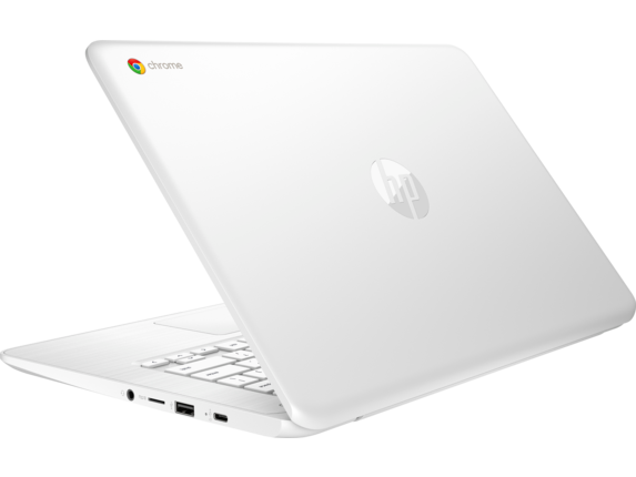 HP Chromebook - 14-db0030nr - Left rear
