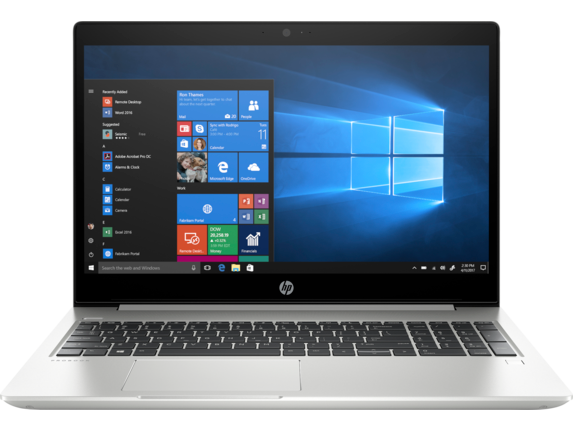 HP ProBook 450 G6 Notebook PC - Customizable - Center