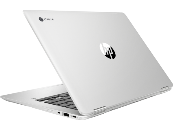 HP Chromebook x360 14 G1 Notebook PC - Customizable - Left rear
