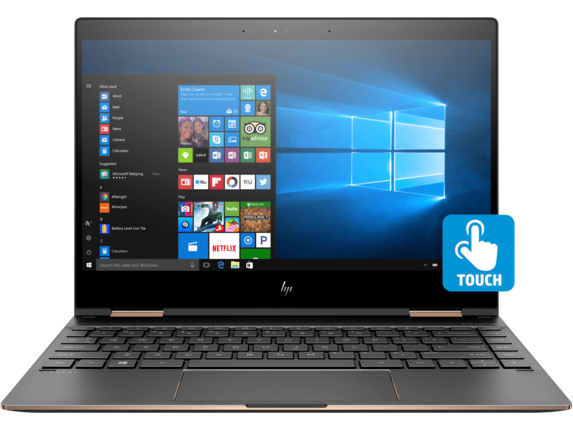 HP Spectre x360 - 13-ae055nr - Center