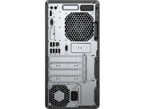 HP ProDesk 400 G5 Microtower PC - Rear