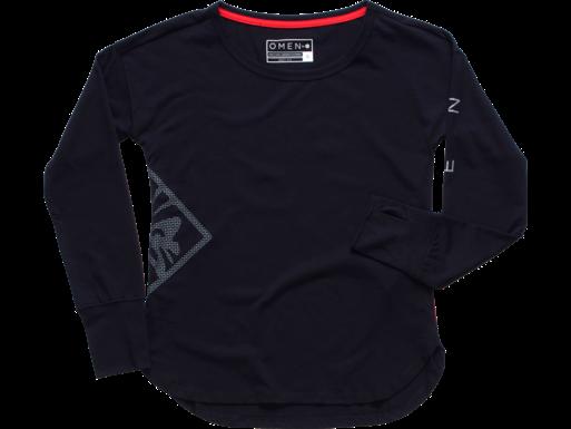 HP OMEN Mask W Langarm-T-Shirt, schwarz – L