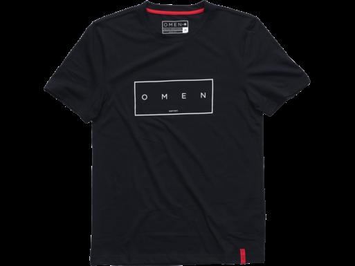 HP OMEN Offset M Kurzarm-T-Shirt, schwarz – L