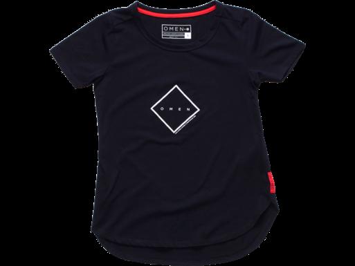 HP OMEN Quadrant W Kurzarm-T-Shirt, schwarz – XS